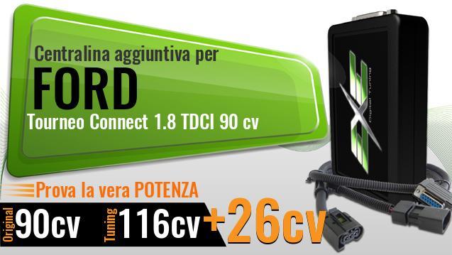 Ford Tourneo 1.8 90 CV Centralina Aggiuntiva Tuning