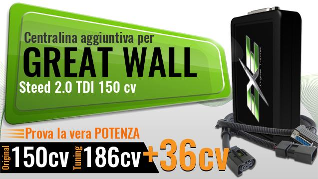 Centralina aggiuntiva Great Wall Steed 2.0 TDI 150 cv