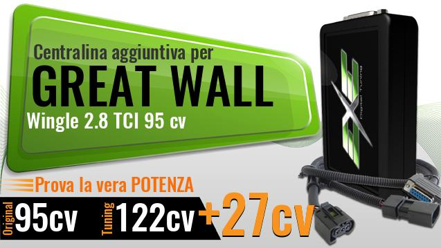 Centralina aggiuntiva Great Wall Wingle 2.8 TCI 95 cv